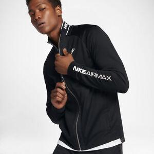 211d31128e NEW Nike Sportswear NSW AIR MAX Men s Track Jacket Black White ...