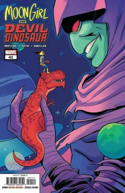 Moon Girl and Devil Dinosaur #9 Cover A  Marvel COMICS 1ST PRINT 2018