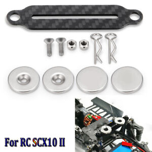 For 1//10 RC Crawler Car Axial SCX10II 90027 90028 Magnetic  Body Shell Mount