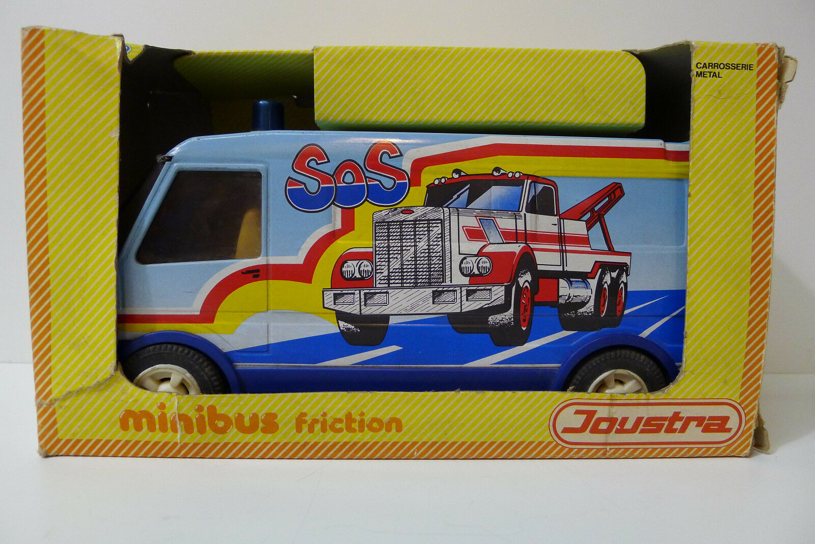 JOUSTRA MINI BUS A FRICTION REFERENCE 2526 MADE IN FRANCE