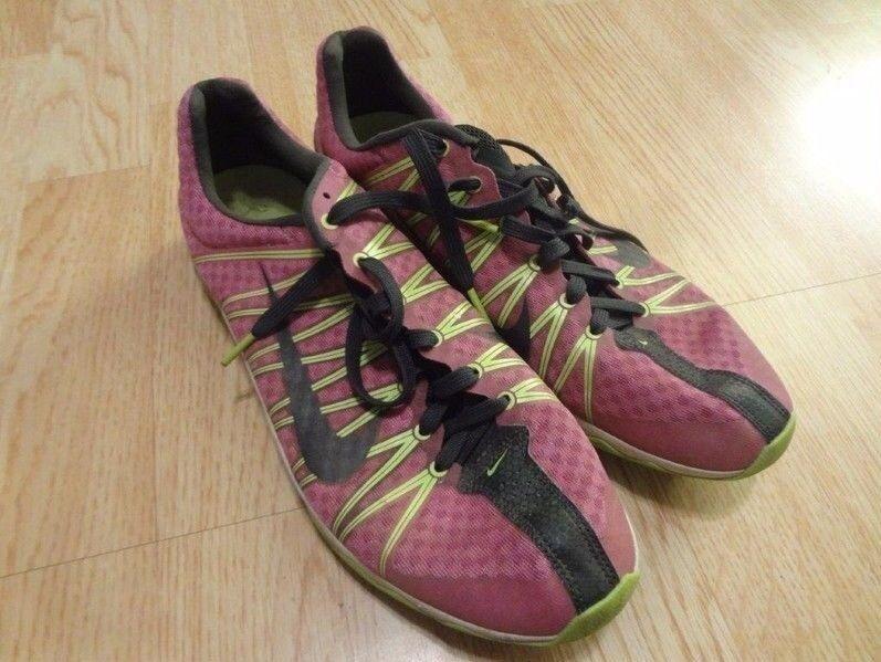 Women's Nike Rival XC Sz 10 Running Track Cleats Metal Casual wild