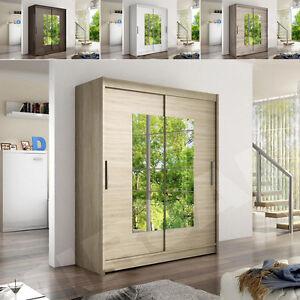 schwebet renschrank paradise iii mit spiegel schiebet r kleiderschrank schrank ebay. Black Bedroom Furniture Sets. Home Design Ideas