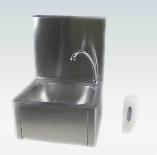 Handwaschbecken Waschbecken Hygienebecken Kniebedienung 40x56x34cm Edelstahl