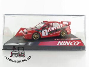 NINCO-50293-SUBARU-WRC-ROJO-Club-NINCO-1NUEVO-A-ESTRENAR