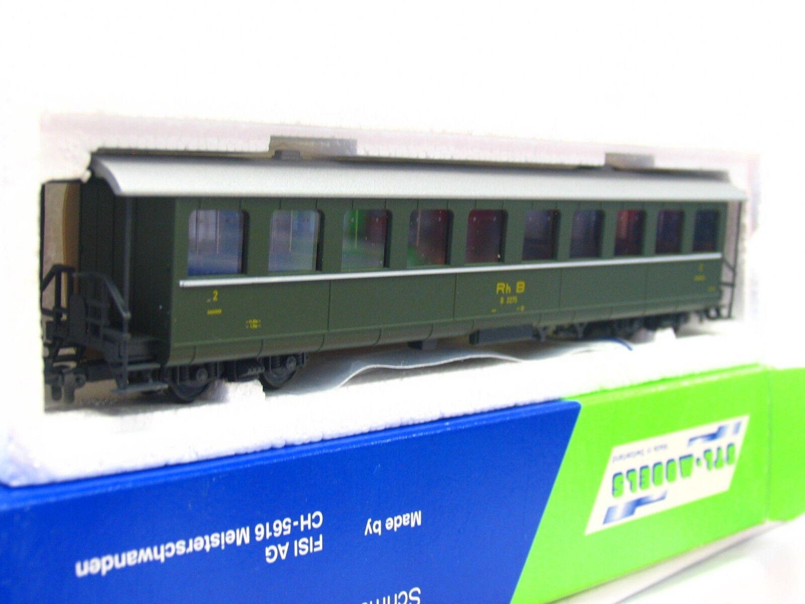STL-Models H0m 2201 Personenwagen B 2275 2. Klasse RhB OVP (RB3398)
