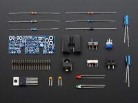 Adjustable Breadboard Power Supply Kit - V1.0