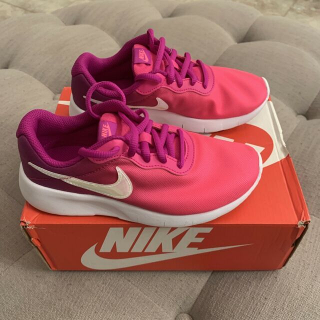 Nike Tanjun Print PS Violet/Pink Ombre Kids Shoes Youth Size 1.5 New In Box