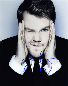 JAMES-CORDEN-SIGNED-8X10-PHOTO-PICTURE-IMAGE-THE-LATE-LATE-SHOW-CBS-8