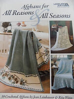 Crochet Afghan's Books Plus Free Shipping Leisure Arts