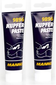 Image is loading 2-x-MANNOL-Copper-Paste-9896-Kupfer-Paste-