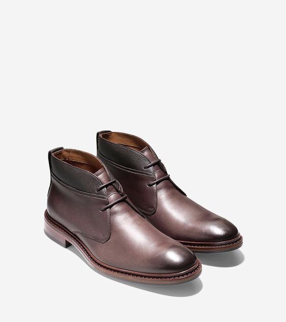 Nuevo Cole Haan Williams Welt Chukka II (Castaño) - Zapatos de hombre