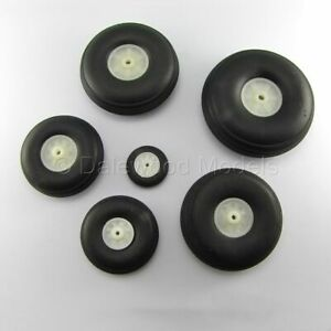 Pairs-of-Wheels-with-Rubber-Tyres-25-69mm-1-034-2-75-034-RC-Model-Plane