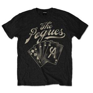 The-Pogues-Ace-Official-Men-039-s-Black-T-Shirt