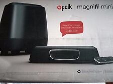 Polk Audio MagniFi Mini Home Theater Sound Bar System, Wireless Music Streaming
