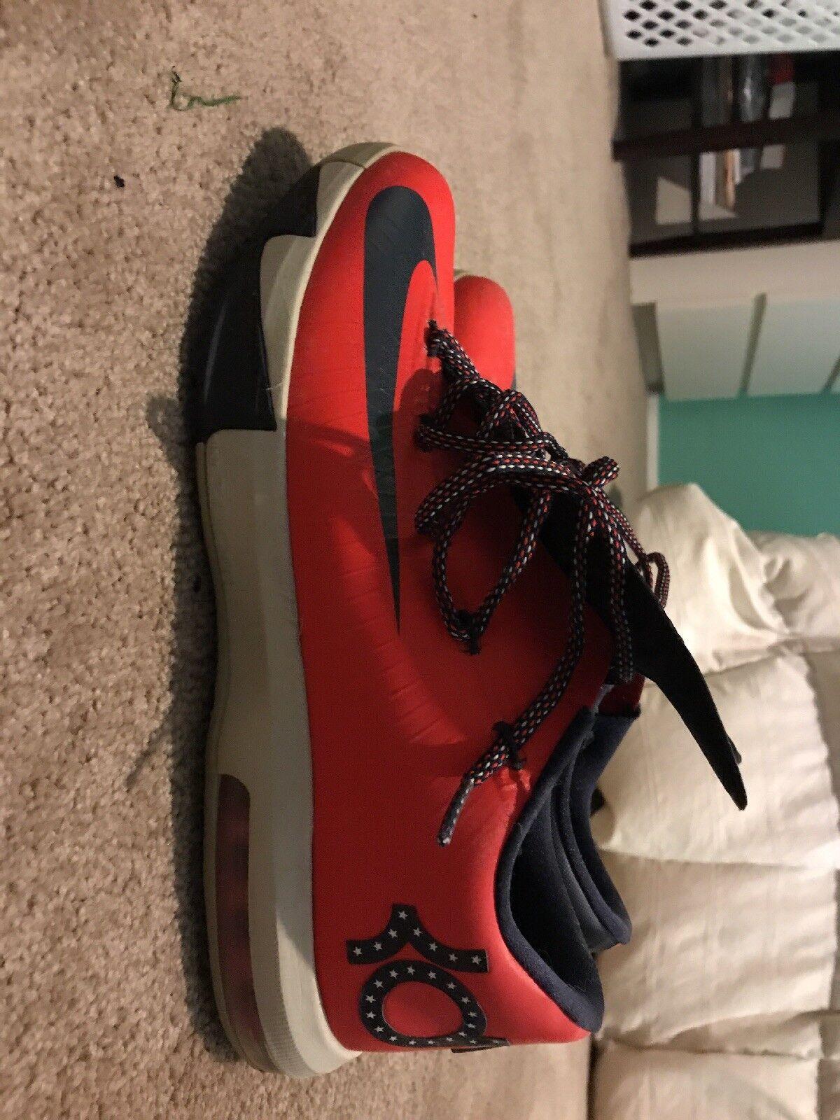 Nike KD VI DC (Kevin Durant 6 Washington D.C. USA) MENS U.S. Size 10.5
