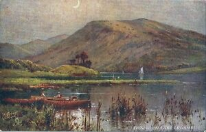 CPA-Raphael-Tuck-034-Picturesque-English-Lakes-034-Grasmere-Lake-Oilette