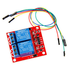 Geeetech-2-channel-Relay-Module-TTL-level-with-jumper-wire-for-Arduino-ARM-AVR
