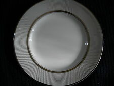 Wedgwood Martha Stewart Collection Ribbon Stripe Silver Bread Butter Plate New