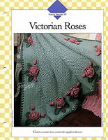 Victorian Roses Afghan Timeless Floral Afghan Crochet Pattern