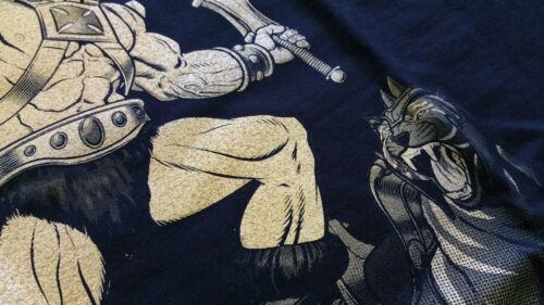 He-Man Premium T-shirt negra motu 80er culto Fun He-Man culto masters Universe
