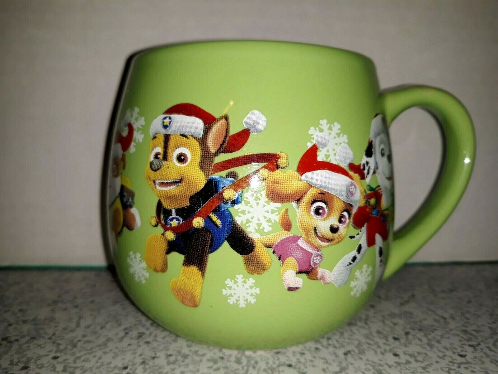 5cm Paw patrol is on Roll-Ceramic Mug-size ø8 5 h9