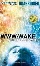 WWW: Wake  WWW Trilogy  2010 by Sawyer, Robert J. 1441843582 Ex-library