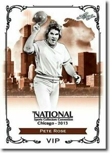 PETE-ROSE-2013-LEAF-NATIONAL-EXCLUSIVE-COLLECTORS-PROMO-CARD