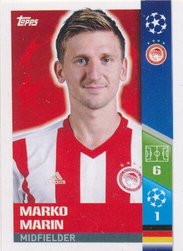 Qualifying Teams Tarik Elyounoussi Champions League Sticker 17//18-514