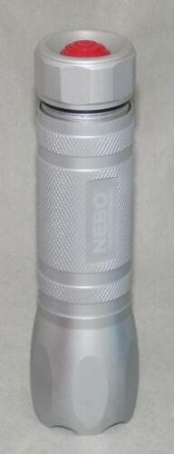 NEBO Continuous Supreme Illumination Tactical 8LED Flashlight and Laser