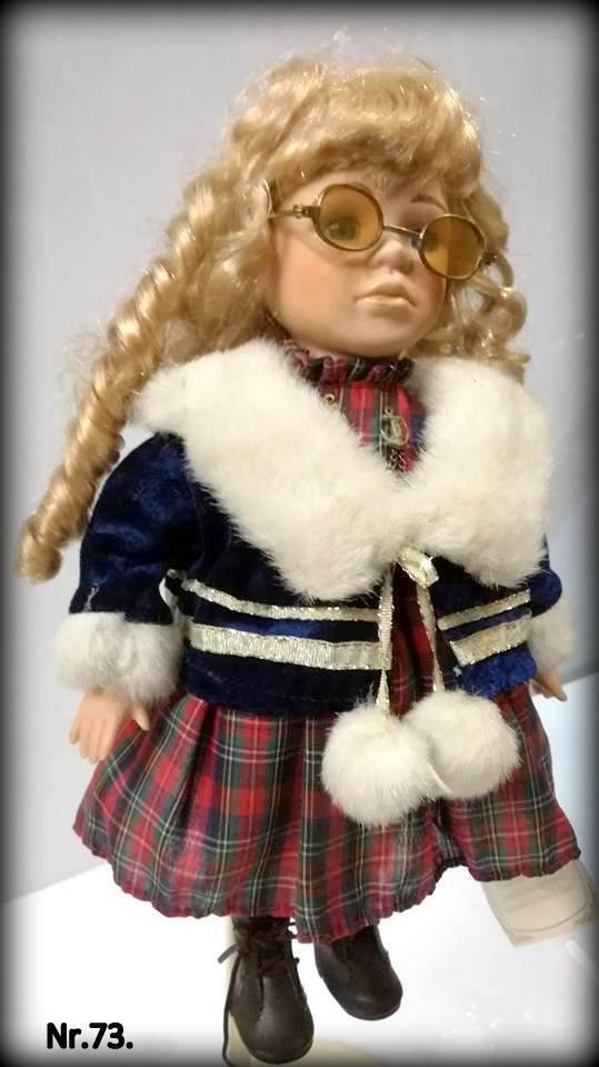 Vintage collection porcelain baby girl doll 16