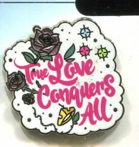 Princess Quotes Flair Icons Aurora True Love Conquers All Disney Pin