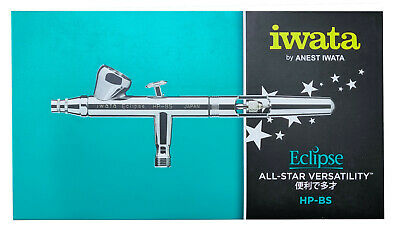 ANEST IWATA Eclipse HP-BS AirBrush 0.3 mm cup1.5