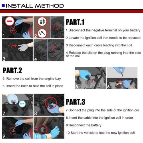 Ignition Coil for Nissan Altima Rogue Sentra X-Trail Infiniti FX50 M56 Q70 UF549