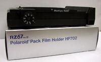Mamiya Rz Pro Iid, Pro Ii, Rz Polaroid Film Holder / Film Back Hp702