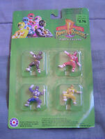 Sealed Mighty Morphin Power Rangers 1 Party Favor Figures Placo 1993