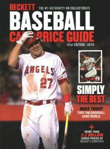 Details About Beckett Baseball Card Price Guide 2019 Paperback By Beckett Media Cor Lik