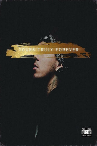 T806 Hot Phora Yours Truly Forever Rap Music Cover Pop Star Poster Art Decor