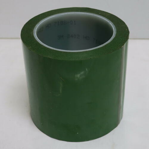 8402 3M™ Green Polyester Tape 4 in x 72 yd 1 ROLL