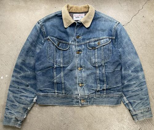 vintage union made lee denim jacket