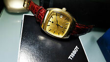 Orologio Vintage Tissot Tissonic Esa 9162 Placcato oro Anni 70