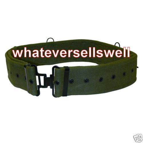 58 PATTERN WEBBING BELT BRITISH ARMY for cadet military TA