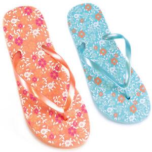 1b045701e6e04 femmes hawaïen floral Sandales Tongs Tailles 3 4 5 6 7 8 NEUF 1 ...
