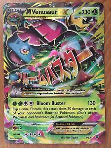 MEGA Venusaur EX ULTRA RARE 2//83 Pokemon Card TCG XY Generations HOLO NM
