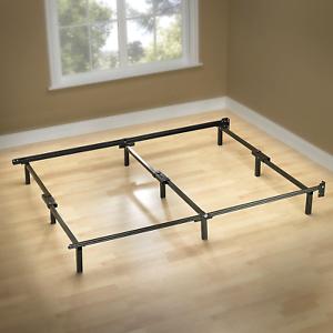 Image Is Loading Zinus Compack 9 Leg Support Bed Frame KING