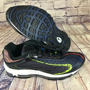 Details about Nike Air Max Deluxe Black Midnight Navy Womens size 10 AQ1272 001 New