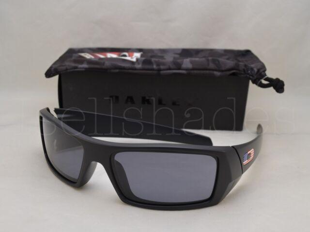 59b7afc1ad7 Oakley Gascan 11-192 Oo9014 Matte Black With Grey American Flag ...