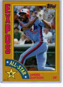 Andre-Dawson-2019-Topps-1984-Topps-All-Stars-Oversize-5x7-Gold-84AS-AD-10-Expo