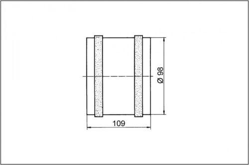 0080.0460 Maico Rohreinschubventilator ECA 11 E DN 100 Nr