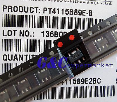 20PCS PT4115 SOT89 IC LED drive power NEW GOOD QUALITY