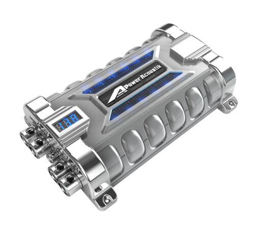 Power Acoustik PCX30F Capacitor 30Farad Digital Disppower Acoustik;With Case